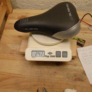 Gewicht Islabikes Sattel Sattel