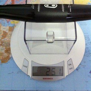 Gewicht Crank Brothers Lenker Cobalt 3 31.8mm, 780mm