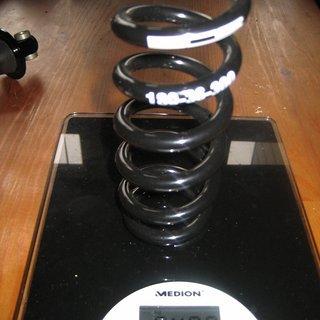 Gewicht BOS Feder Stahlfeder 180-36-300