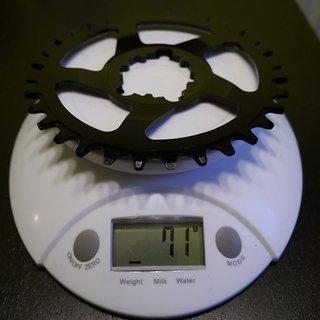 Gewicht Works Components Kettenblatt SDM (Sram/GXP) DM, 32Z