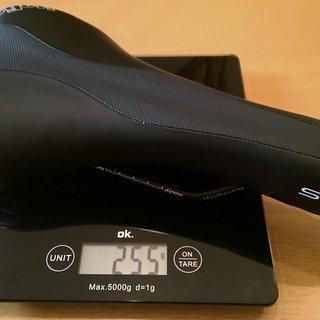 Gewicht Selle Italia Sattel SL T1 131 x 275mm