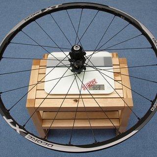 Gewicht Shimano Systemlaufräder XT WH-M 785 HR, 135mm/QR