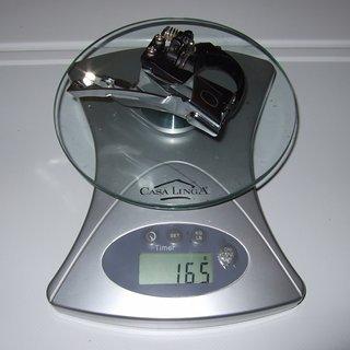 Gewicht Shimano Umwerfer Deore FD-M530 34,9mm
