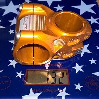 Gewicht Hope Vorbau AM/Freeride Stem 31,8mm 35mm lang