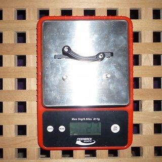 Gewicht Magura Scheibenbremsadapter Adapter Nr. 3 PM >>> IS +20