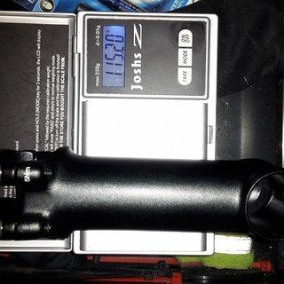 Gewicht XLC Vorbau Pro SL ST-M16 110mm / 31.8mm