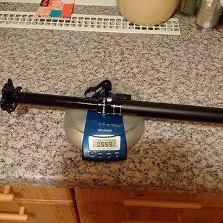 Gewicht Yep Components Sattelstütze höhenverstellbar Uptimizer 2.0 ST 30,9 x 438mm; 155mm Hub