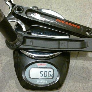 Gewicht Race Face Kurbel Deus XC X-Type 175mm