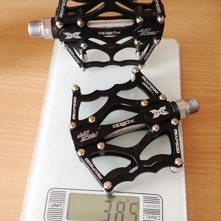 Gewicht Xpedo Pedale (Platform)  FACEOFF 13 90x100x17.6