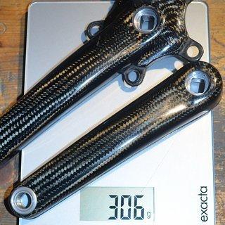 Gewicht THM-Carbones Kurbel Storck Powerarms 175mm
