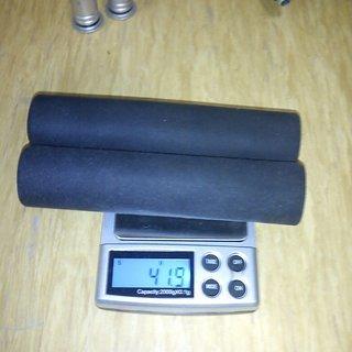 Gewicht ESIgrips Griffe Racer's Edge 130mm