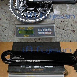 Gewicht Cannondale Kurbelgarnitur SI SL Hollowgram 175mm, 22/32/44Z