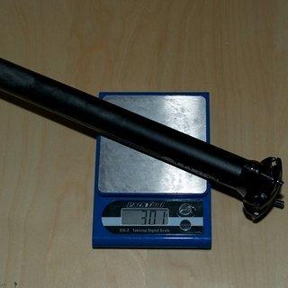 Gewicht Easton Sattelstütze EA50 Offset 31.6 x 350mm