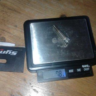 Gewicht Ritchey Schrauben, Muttern zylindrische Inbusschraube M6x35, Stahl