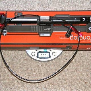 Gewicht Crank Brothers Sattelstütze höhenverstellbar Kronolog 30,9 x 405mm