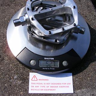 Gewicht DMR Pedale (Platform) V12 115x95x25mm