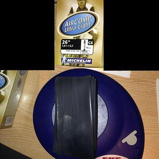 """Gewicht Michelin Schlauch C4 Aircomp Ultra-Light SV/26x1.6-2.1"""""""