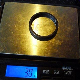 Gewicht Mondraker Spacer Al-Spacer 1⅛'', 5mm