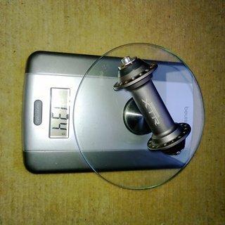 Gewicht Shimano Nabe XTR HB-M950 100mm/QR/32H