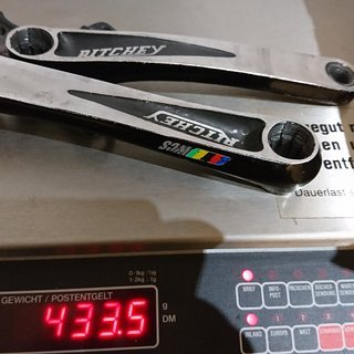 Gewicht Ritchey Kurbel WCS ISIS  175mm 104/64