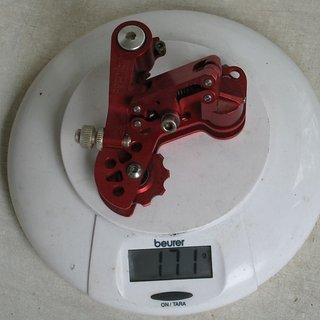 Gewicht Precision Billet Schaltwerk Proshift MK 1