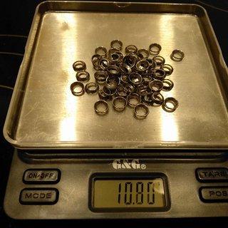 Gewicht Sapim Weiteres/Unsortiertes HM Nipple Washer 64 Stk.