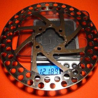 Gewicht Coda Bremsscheibe Expert 151mm