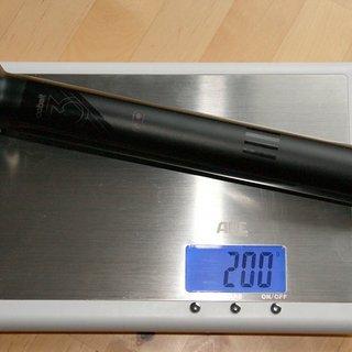 Gewicht Crank Brothers Sattelstütze Cobalt 3 31,6 x 250mm
