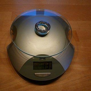 Gewicht Shimano Kassettenabschlussring SLX CS-HG80-9 11Z