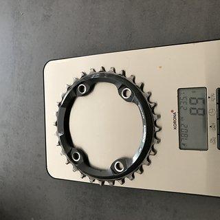 Gewicht Shimano Kettenblatt XT Lk96 SM-CRM 81 32t