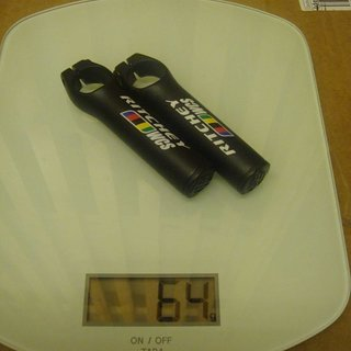 Gewicht Ritchey Hörnchen WCS Bar Ends 85mm