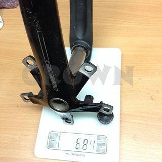 Gewicht FSA Kurbel Gossamer 172,5mm, 68/73mm