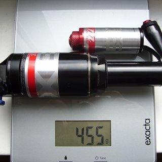 Gewicht Manitou Dämpfer Evolver ISX6 200 x 57mm