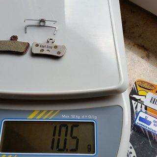 Gewicht Kool Stop Bremsbelag KS D293A SRAM Guide / X0 Trail