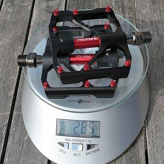 Gewicht Promend Pedale (Platform) PD-M86 109mm * 94mm * 12mm