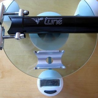 Gewicht Tune Sattelstütze Starkes Stück 31,6 x 340mm