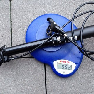 Gewicht Rock Shox Sattelstütze höhenverstellbar Reverb 31,6 x 380mm