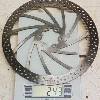 Gewicht Magura Bremsscheibe Gustav M 210mm