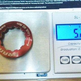 Gewicht SRAM Kassettenabschlussring PG-990 11Z