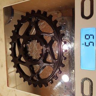 Gewicht absoluteBlack Kettenblatt OVAL BOOST148 TRACTION CHAINRING FOR SRAM 32 Zähne