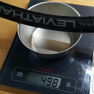 Gewicht Astral (by Rolf Prima) Felge Leviathan Tandem Disc Felge 622x19.5