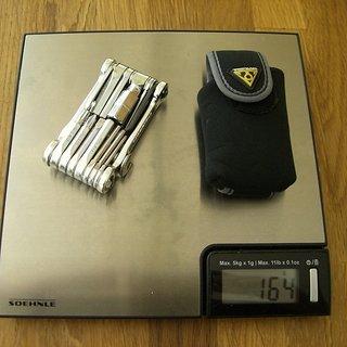 Gewicht Topeak Werkzeug Mini 20 Pro