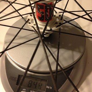 Gewicht DT Swiss Systemlaufräder EX 1750 VR, 110mm/20