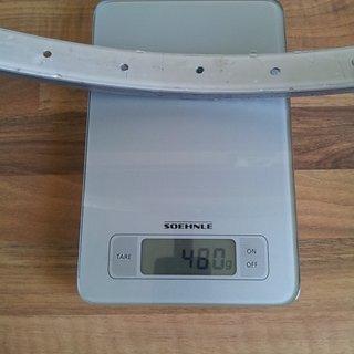 """Gewicht Schürmann Felge Typ 6.1.5 48 2 26"""" / 559x21 / 36 Loch"""