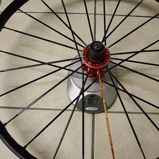 Gewicht Mavic Systemlaufräder Crossmax SLR HR, 135mm/QR