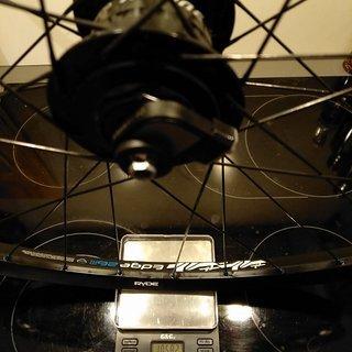 """Gewicht Shimano Systemlaufräder Alfine DH-S701 - Ryde Edge 26 OS - Sapim Laser 29"""", VR, 100mm/QR"""