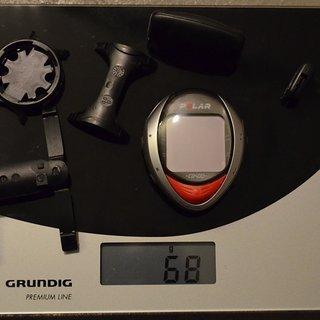 Gewicht Polar Computer CS 400