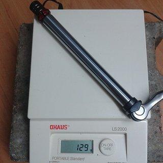 Gewicht Suntour Achse Q-Loc 100 x 15mm