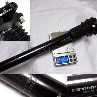 Gewicht Cannondale Sattelstütze höhenverstellbar Competition 27.2 x 350mm