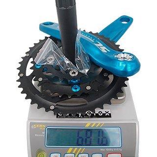 Gewicht Aerozine Kurbelgarnitur X12-SL-A3 170/175mm, 22/32/44Z